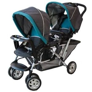 Graco Dragonfly double stroller