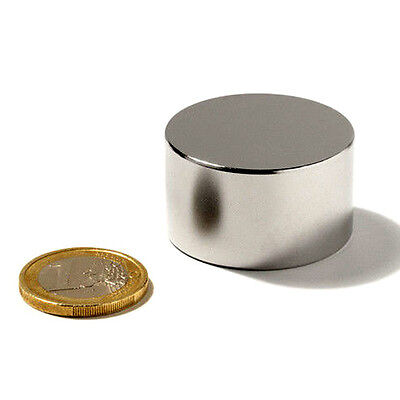 Neodymium Round Disc Magnets 70 X 40mm Super Strong Rare Earth 70mm Dia X 40mm