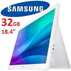 "NEW* SAMSUNG GALAXY VIEW TAB 32GB - 116371462 - 18.4"" ANDROID 5.1 EXYNOS 7580 OCTA CORE WHITE TABLET"