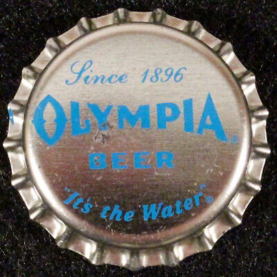 OLYMPIA PLASTIC LINED BEER BOTTLE CAP #22 TUMWATER WASHINGTON OLY CROWN~~VINTAGE