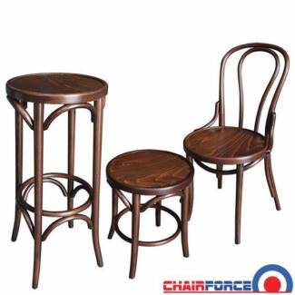 Thonet Bentwood chairs & stools for indoor dining / cafe Silverwater Auburn Area Preview