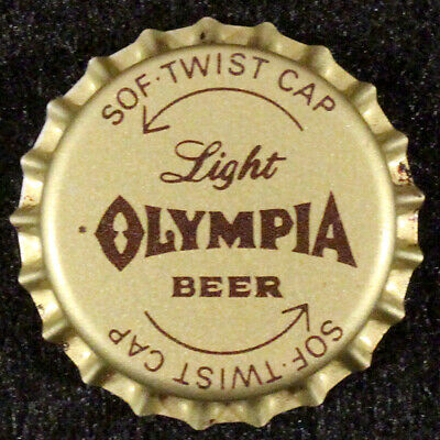 OLYMPIA PLASTIC LINED BEER BOTTLE CAP #32 TUMWATER WASHINGTON OLY CROWN~~VINTAGE