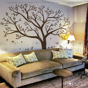 Giant family tree wall sticker vinyl art home decals room decor mural branch - Decor mural original ...