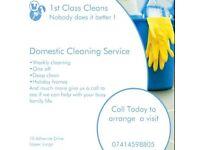 1st class cleans