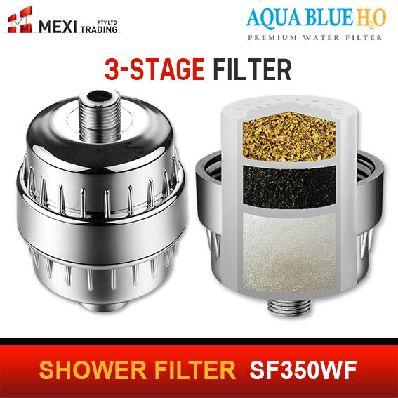 3 STAGE  SHOWER FILTER HIGH QUALITY  SYSTEM -