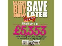Regal Elegance Holiday Home***Billing Aquadrome***Plus Save up to £5,353