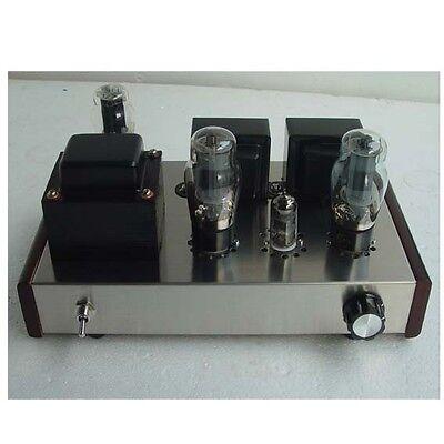 Class A Single Ended 6N1+6P3P Tube Audio Amplifier 8W*2 HIFI Valve Amp DIY Kit