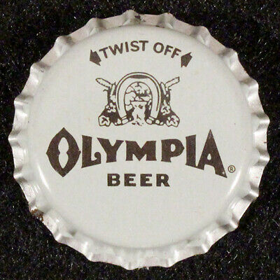 OLYMPIA PLASTIC LINED BEER BOTTLE CAP #21 TUMWATER WASHINGTON OLY CROWN~~VINTAGE