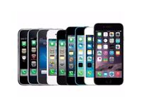 I'm looking to buy iPhones, any generation iPhone 4, 5, 5S, 5C, 6, 6Plus, 7+, 8