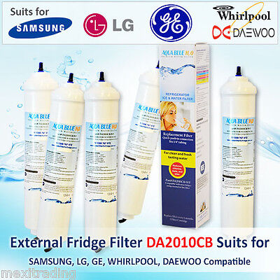 5Pack REFRIGERATOR EXTERNAL WATER FILTER GENERAL ELECTRIC GENERIC DA2010CBWF