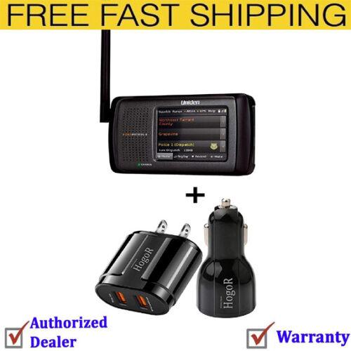 HomePatrol-2 Color Touchscreen Simple Program Digital Scanner W/ Car&USB Charger