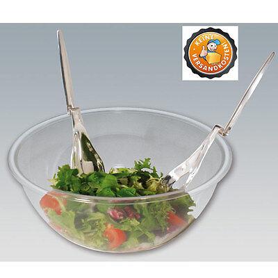 Salatbesteck mit Knick
