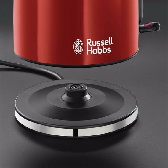 Russell Hobbs - Red 'Colour Plus' kettle