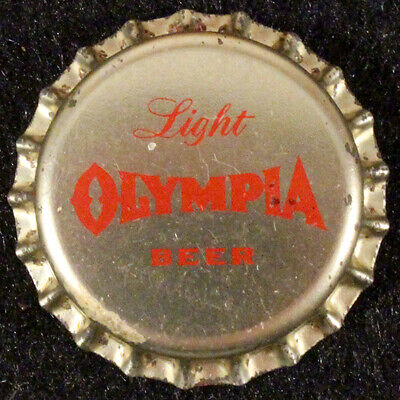 OLYMPIA PLASTIC LINED BEER BOTTLE CAP #25 TUMWATER WASHINGTON OLY CROWN~~VINTAGE