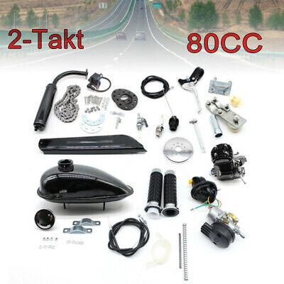 80cc 2-Tiempos Motor Bicicleta Eléctrica Bicicleta Motorizada Kit De Conversión