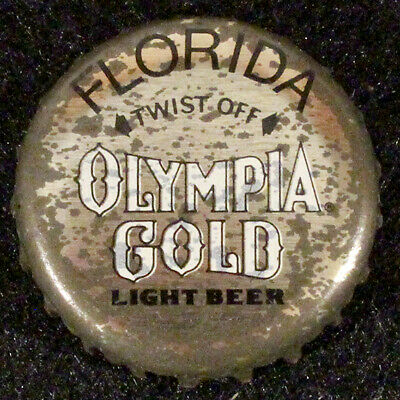 OLYMPIA FLORIDA PLASTIC BEER BOTTLE CAP 13 TUMWATER WASHINGTON OLY CROWN~VINTAGE