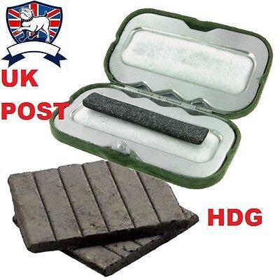 HIGHLANDER POCKET SOLID FUEL HAND WARMER-CHARCOAL +12/13 Fuel Rods/Sticks ARMY