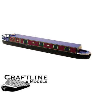 Craftline Models BLA56 - Holiday Narrow Boat Balsa Wood Kit OO Gauge/4mm 1stPost
