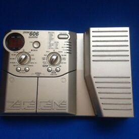 ZOOM 606 Multi Effects pedal.