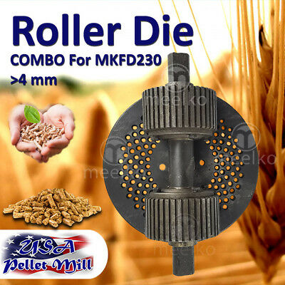 Combo Roller Die For Pellet Mill Mkfd230 - Usa Free Shipping