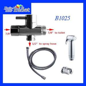*** TOILET BIDET HAND HELD Spray set *** شطاف, Inst $30 lo