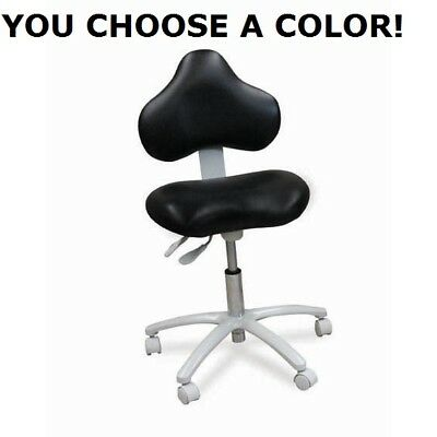 Galaxy 2015 Dental Doctors Hygienists Anti-fatigue Seat Stool Chair 17 Colors