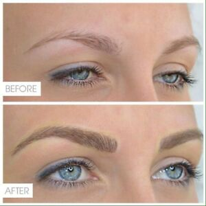 Permanent makeup, microblading, eyeliner tattoo.