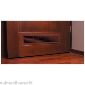 Brown bathroom door air vent grille 460mm x 135mm for 3 bathroom vent cover