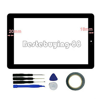 US New Digitizer Touch Screen for RCA Viking Pro RCT6303W87M DK 10.1 Inch Tablet