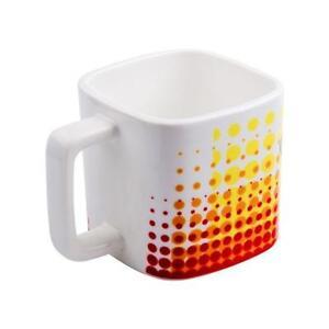 10pcs 11oz sublimation Square White Mug -110413