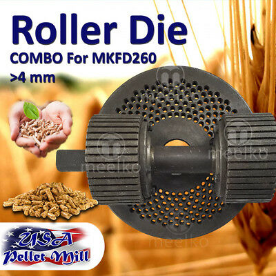 Combo Roller Die For Pellet Mill Mkfd260 - Usa Free Shipping