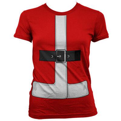 Mrs Santa Claus Nikolaus Christmas Weihnachten Anzug Kostüm Frauen Women - Mrs Claus Anzug Kostüm