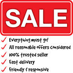 SALE - Everything must go!
