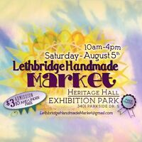 Looking for handmade vendors for our august 5th market!