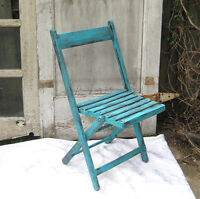 Chairs-Very popular,vintage wooden slat folding chairs