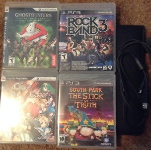 Ghostbusters, Cross Edge, Rockband 3, South Park & Charge Cable