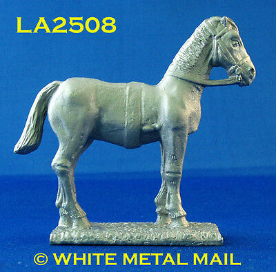 Military Lead Casting LA2508 Standing Horse without Saddle