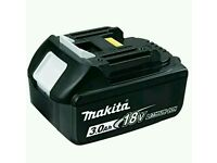 MAKITA MAKITA BL1830 18.0V 3.0Ah Lithium-ion Battery (638409-2) - Genuine