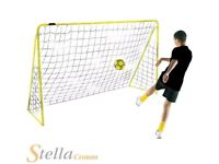 6FT Premier FOOTBALL GOAL - made from STEEL
