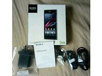 Sony Xperia Z1 box with accessories