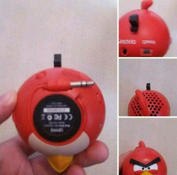 Angry bird speaker