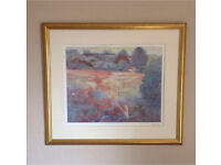 John Lewis Pastille Landscape Picture For Sale