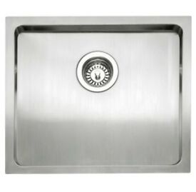 CAPLE SINK MODED045 SS DRAINER, INSET OR UNDERMOUNT