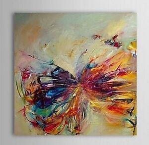 Quadro moderno astratto farfalla dipinto a mano olio su - Dipinti moderni per cucina ...