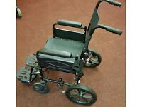 Lightweight WHEELCHAIR - For sale - Folding Wheel chair, Disabled.