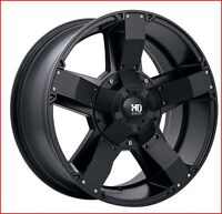 Roues (Mags) Ruffino HD Helix Noir Satin 17 pouces