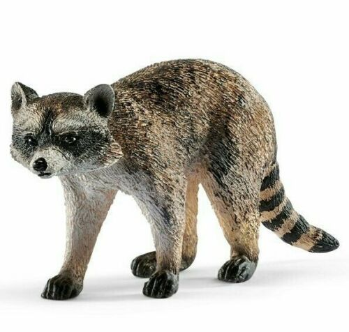 <>< 14828  Racoon  Sweet strong Schleich Anywheres a Playground