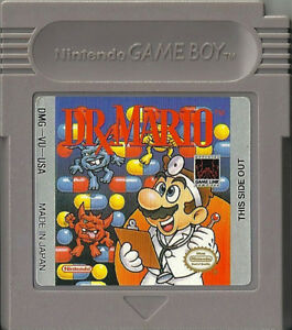 Dr Mario Nintendo game boy game or best offer