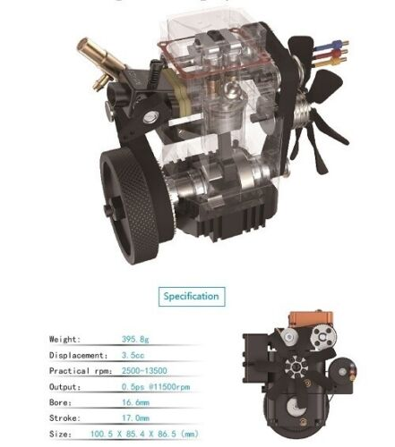 TOYAN Engine  FS-S100WA1 Nitro Water Cooled kit FREE Accessories Ships from USA!