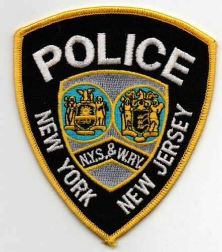 NEW YORK NEW JERSEY NYS AND WRY POLICE NICE PATCH SHERIFF
